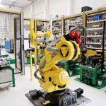 Automatizált robotos görgőző gyártócella
