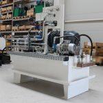 NG 400 acéltartályos tápegység maglövő géphez