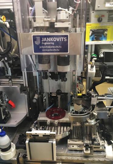 Automata szögrehúzó berendezés munkadarab ellenőrzéssel