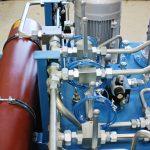 NG 800 acéltartályos tápegység kemence elektróda mozgatáshoz