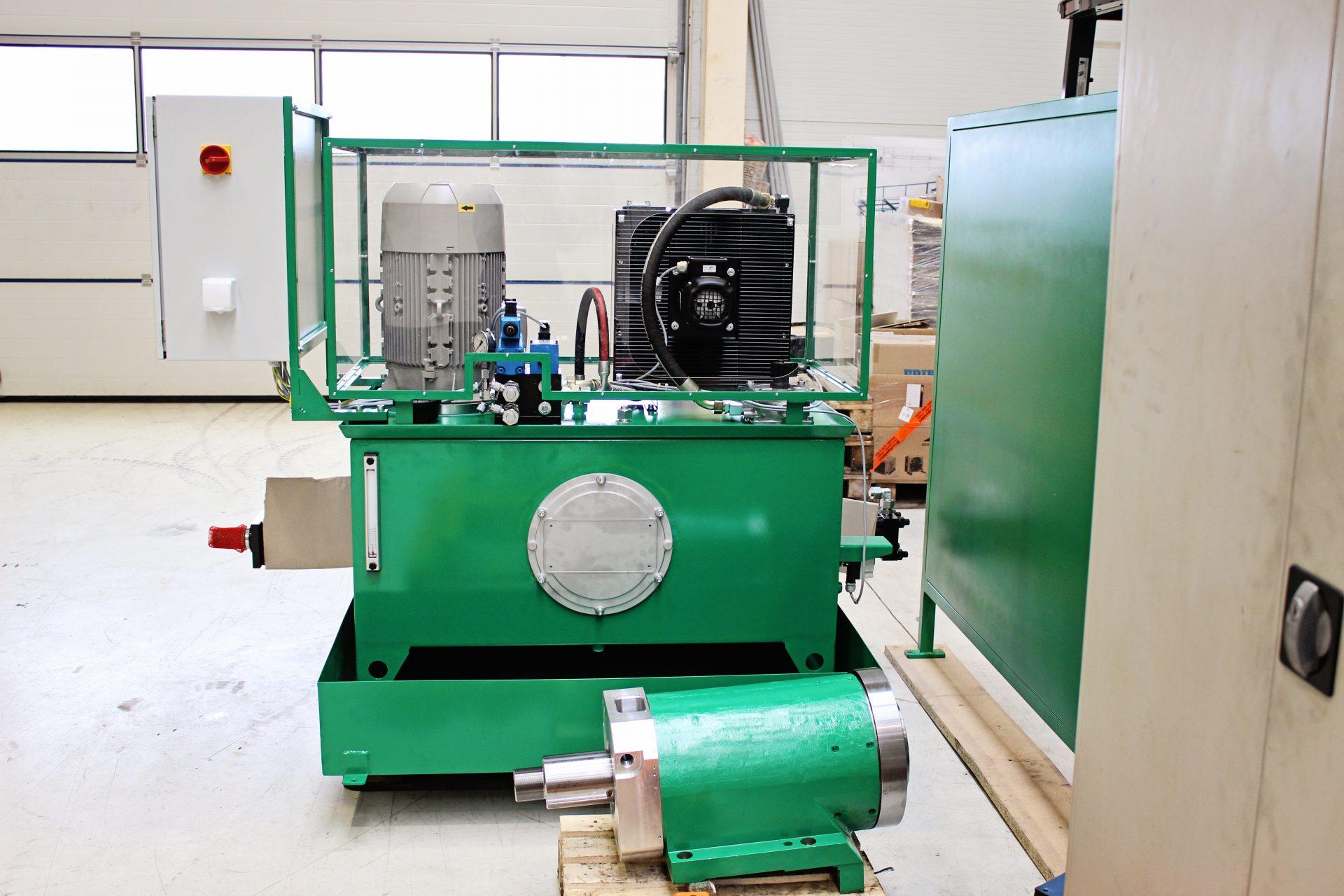 NG 300 acéltartályos tápegység forgácskihordóhoz