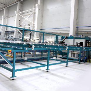 Alumínium profil megmunkáló automata gépsor